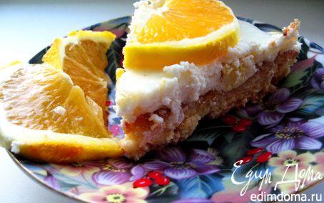 Рецепт Чизкейк с сыром лабне и апельсинами
