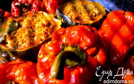 Рецепт Дружные овощи с мясом и гречкой