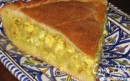 Рецепт Капустный пирог с шафраном