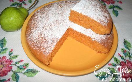 Рецепт Томатный сладкий пирог (постный)