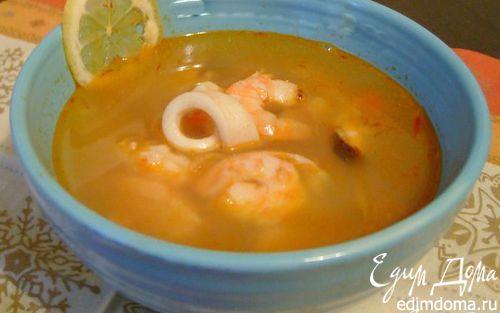 Рецепт Рыбный суп в стиле Буйабес