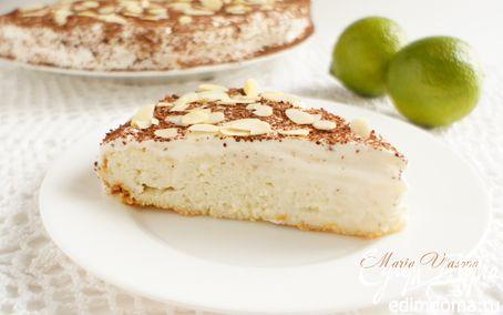 Рецепт Творожно-лаймовый пирог (низкокалорийный)