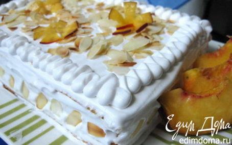 Рецепт Торт вафельно-фруктовый в вафельнице