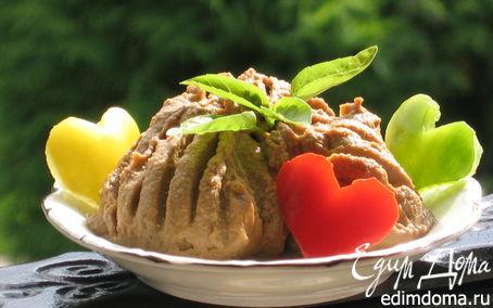 Рецепт Нежный паштет из печени индейки
