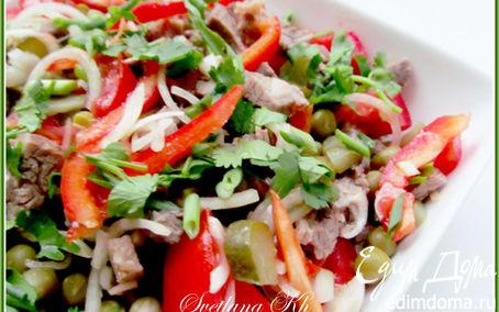 Рецепт Мясной салат