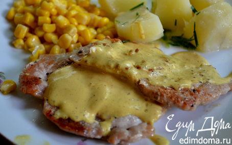 Рецепт Свинина с горчичным соусом