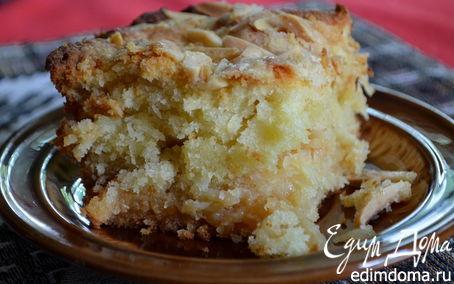 Рецепт Кокосово-миндальный кекс (Macaroon Coffee cake)