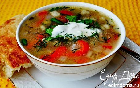 Суп из куриных спинок рецепт с фото
