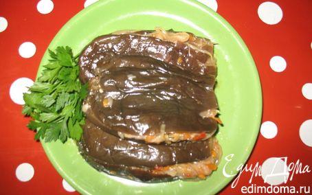 Рецепт Квашеные баклажаны, фаршированные овощами