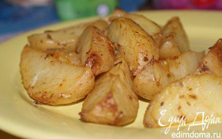 Рецепт Запеченный картофель в горчичном маринаде