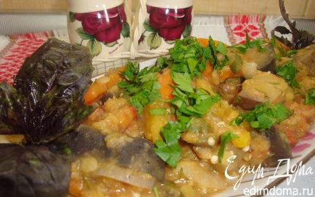 Рецепт Чечевица с овощами