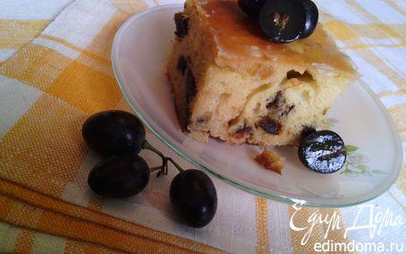 Рецепт Ромовые пирожные с черносливом и цукатами