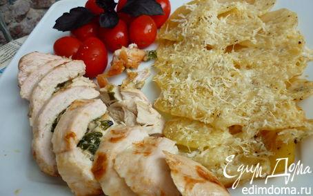 Рецепт Куриные кармашки по-итальянски