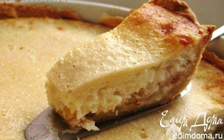 Рецепт Кокосовый пирог с яблоками