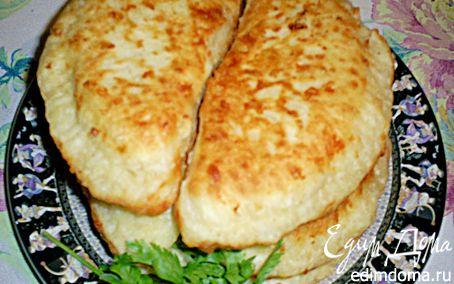 Рецепт Сырные лепешки с мясом