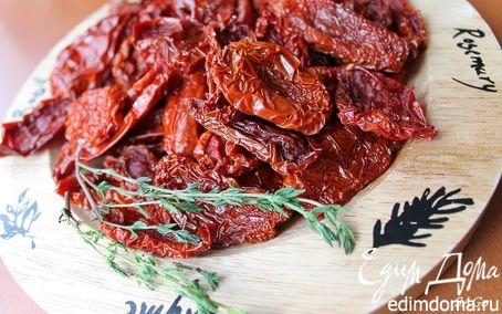 Рецепт Вяленые томаты и томатный соус с печеными овощами из остатков (безотходное производство)