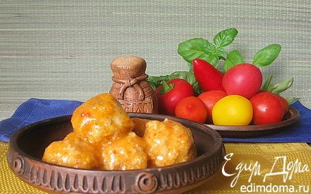 Рецепт Фрикадельки в овощном соусе