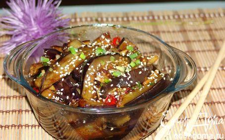 Рецепт Баклажаны в китайском стиле