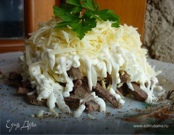 Рецепт на салат мужской каприз