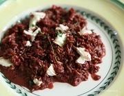 Красный рис с козьим сыром