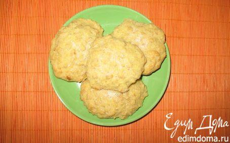 Рецепт Кукурузно-овсяное печенье