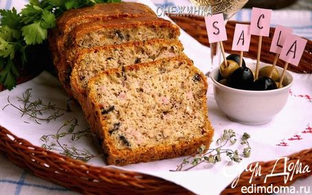 Рецепт Праздничный итальянский хлеб