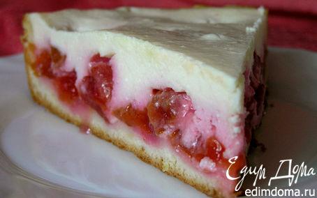 """Рецепт Творожно-ванильный пирог со сливами. """"HomeQueen Corporation"""""""