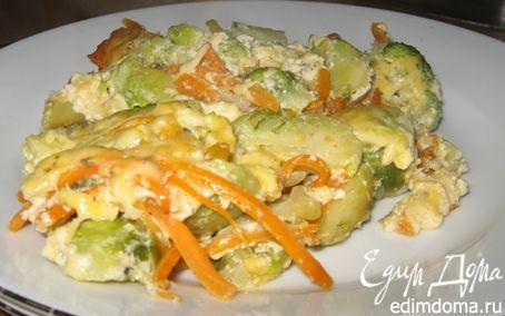 Рецепт Капустная запеканка с сыром