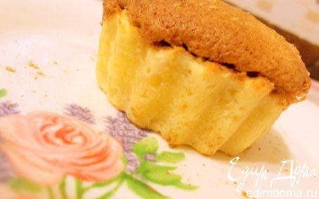 Рецепт творожные корзиночки с шоколадным суфле