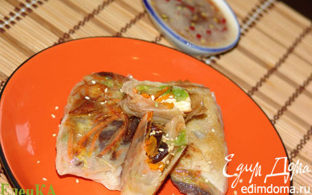 Рецепт Спринг-роллы с тофу