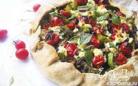 Рецепт Галета с овощами-гриль