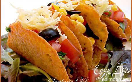 Рецепт Мексиканские тако с говядиной
