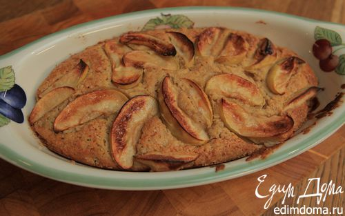 Рецепт Утренний пирог с яблоками и корицей