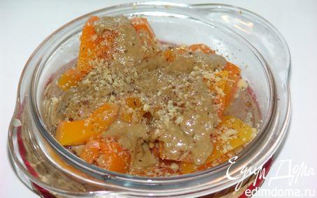 Рецепт Бал-кабак татлисы (сладкая тыква с тахинной пастой)