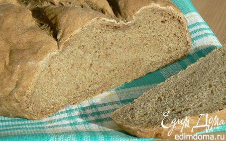 Рецепт хлеб пшенично-ржаной на сухом квасе