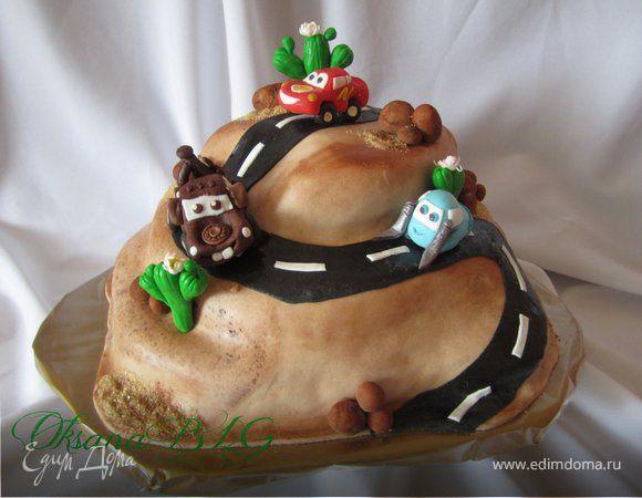 """Торт """"Тачки"""""""