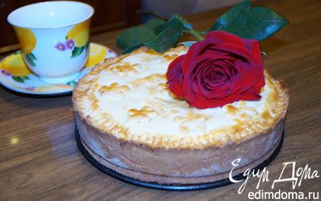 Рецепт Баскский пирог с вишней