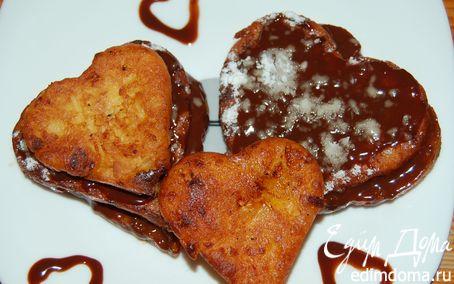 Рецепт Апельсиновые творожники в апельсиново-шоколадной глазури