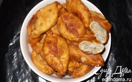 Рецепт Моментальное дрожжевое заварное тесто для пирожков (без яиц)