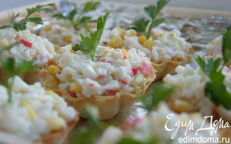 Рецепт Тарталетки, или как Красиво подать салат