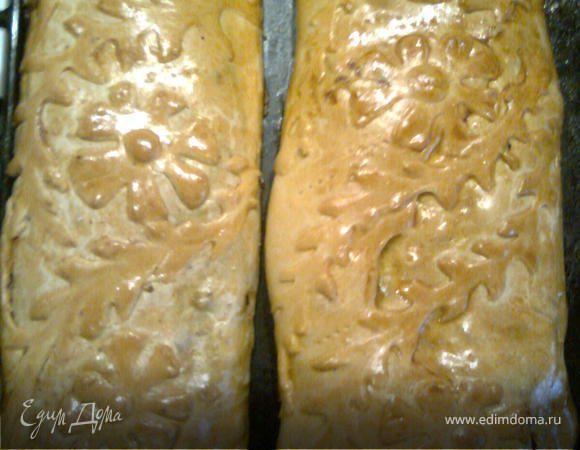 Кулебяка с грибами