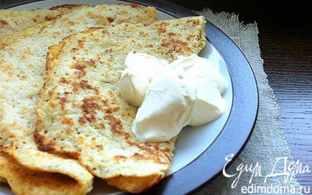 Рецепт Сырно-картофельные блины