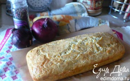 Рецепт сырный кекс с травами