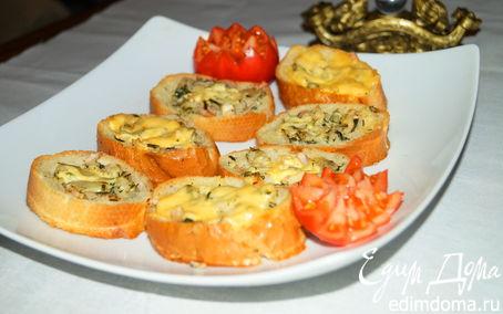 Рецепт Гнезда с рыбой и зеленью