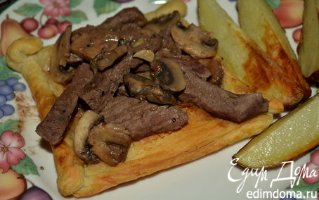 "Рецепт Тарт ""Говядина Веллингтон"" (Beef Wellington Tarts)"