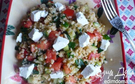 Рецепт Салат с булгуром и овощами