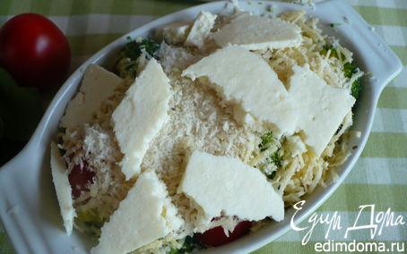 Рецепт Брокколи под сырной корочкой