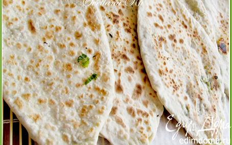 Рецепт Лепешки с зеленью по-кавказски