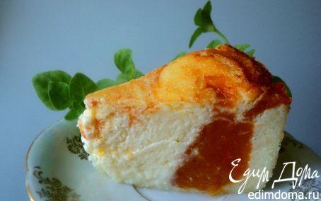 Рецепт Сырник с хурмой (Дубль 1)
