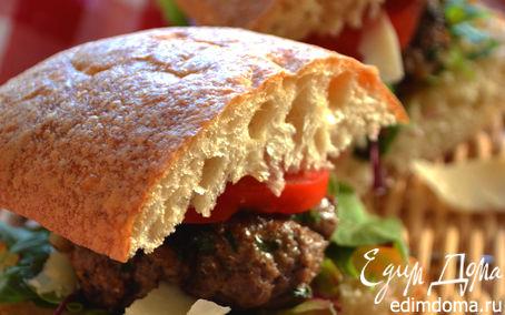 Рецепт Мини-бургеры по-итальянски